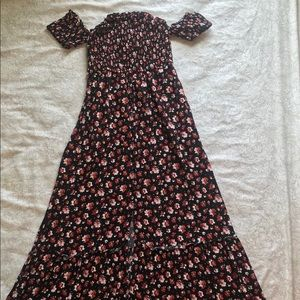 Target Dresses - Off-The-Shoulder Maxi Dress
